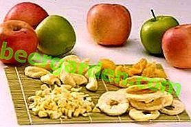 Ние се запасяваме с витамини: сушени на слънце ябълки у дома