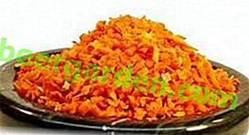 Comment sécher les carottes pour l'hiver à la maison?  Voies et recettes