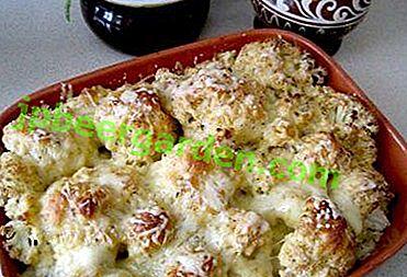 Savoureux et satisfaisant: recettes pour la cuisson du chou-fleur congelé au four