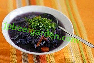 Незвичний борщ з червонокачанної капусти - це смачно і корисно!  рецепти приготування
