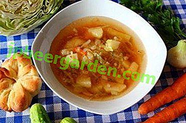 Кращі рецепти приготування супу, борщу та інших перших страв з пекінською капустою