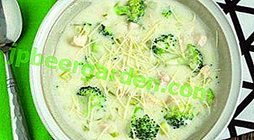 Recettes de soupe au brocoli et au chou-fleur.  Quels sont les avantages et les inconvénients du plat?