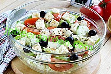 Gardez votre santé et votre bonne humeur pour les années à venir!  Les meilleures recettes de salade avec du fromage Fetaxa et du chou de Pékin