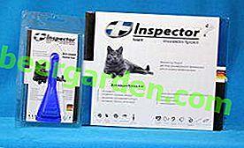 Hüte dein Haustier!  Tropfeninspektor für Katzen von Flöhen und Zecken