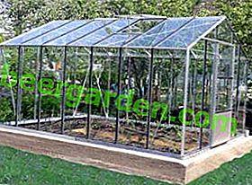 Serres de bricolage en aluminium et verre