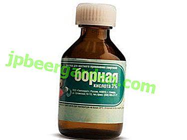 Un remède universel - l'acide borique: application au jardin pour les tomates, les plantes de jardin et les fleurs d'intérieur