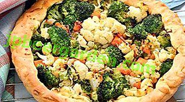 Здрава и укусна јела од броколија и карфиола.  Кухајући рецепти