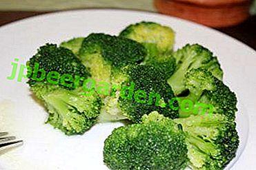 De combien avez-vous besoin pour cuire le chou brocoli pour le rendre savoureux et sain?  Règles et recettes