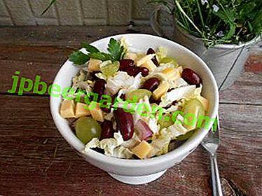 TOP 13 Salatrezepte mit Pekinger Kohl und Trauben