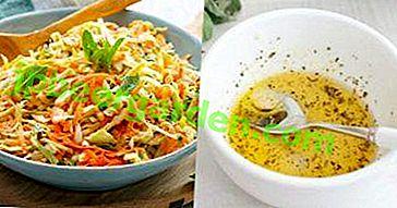 Cuisiner la salade de chou de Pékin?  Toutes les meilleures recharges ici!