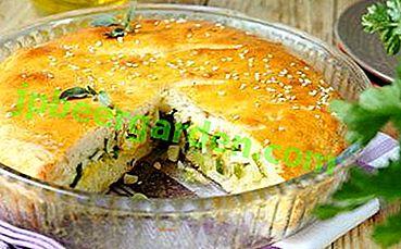 Здравословен и вкусен пай от карфиол