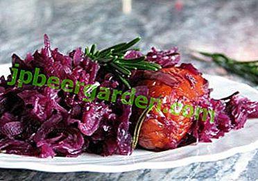 Смачні рецепти швидкого приготування маринованої червоної капусти