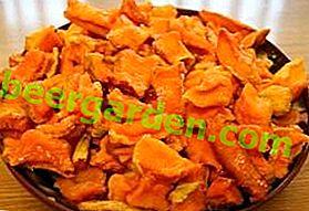 Рецепти для духовки: як зробити в'ялену морква?