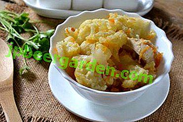 Einfacher und leckerer Blumenkohl mit Fleisch kochen