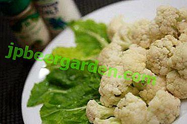 Plats de chou-fleur délicieux, légers et sains dans une mijoteuse
