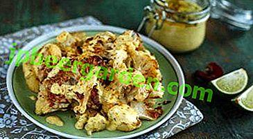 Envie d'un dîner gastronomique?  Une recette détaillée pour rôtir le chou-fleur à la sauce béchamel