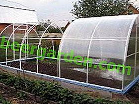 Nous fabriquons nous-mêmes une serre de tuyaux en PVC et polypropylène