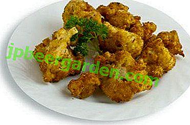 Вкусна рецепта за пържен карфиол в тиган в галета